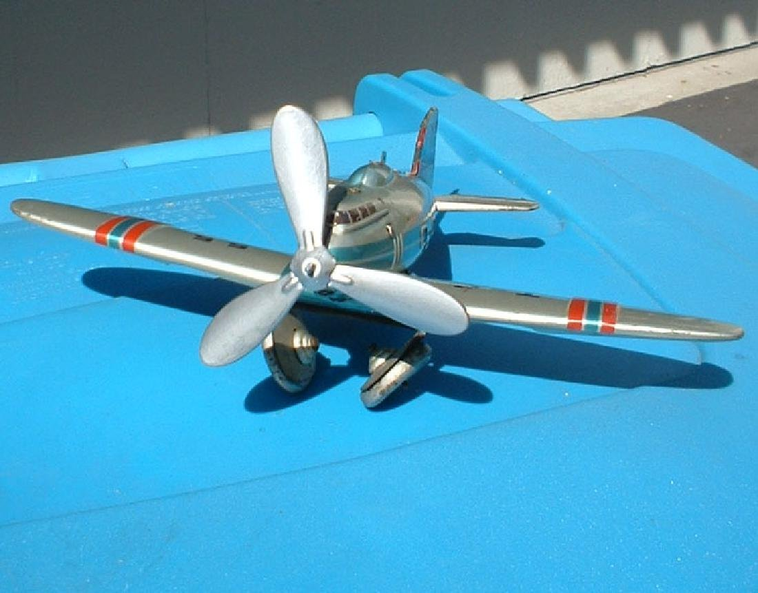 1950 Tippco airplane with turning prop and folding