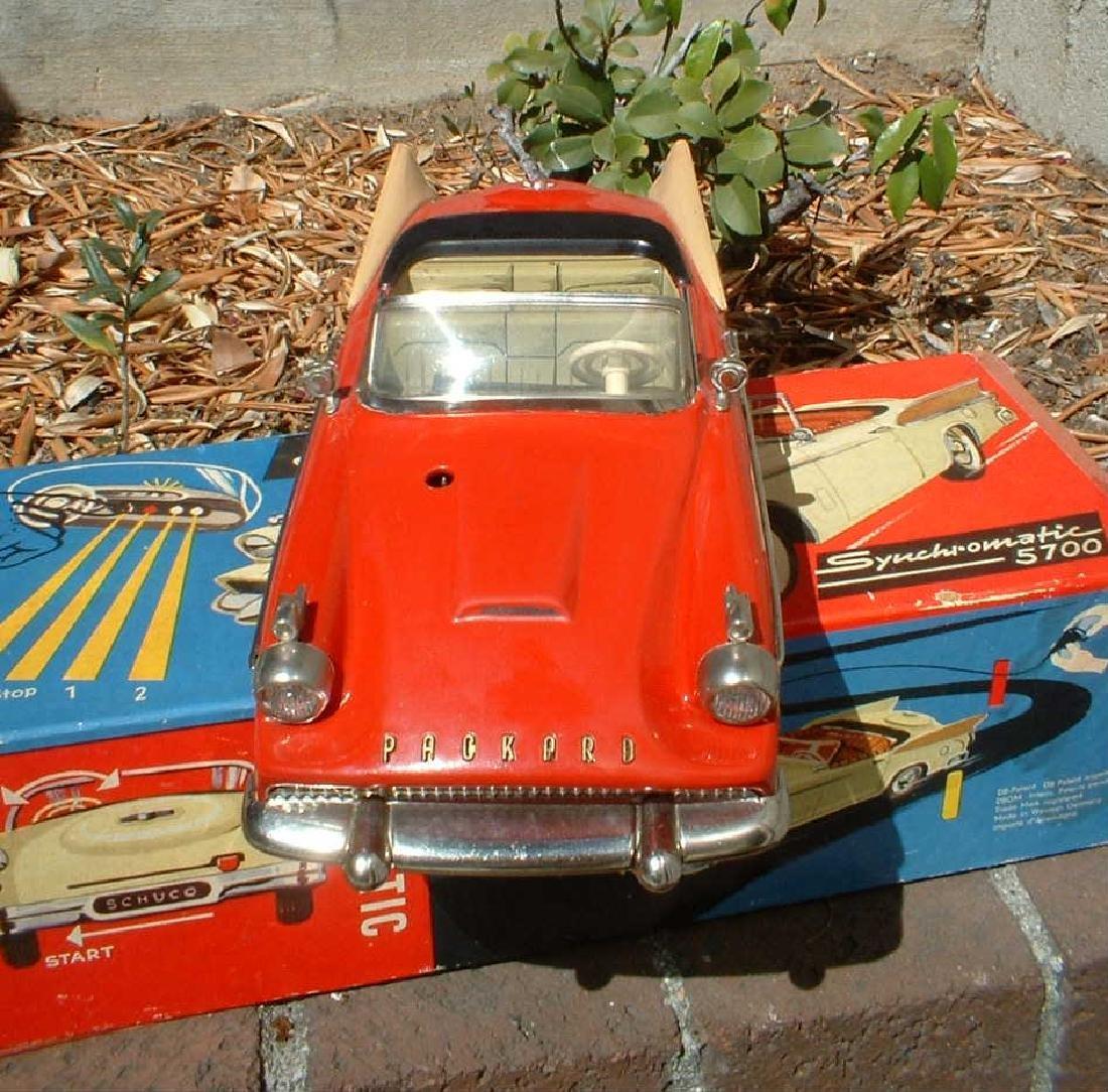 "Schuco 5700 Packard Hawk ""Synchromatic"" & original box"
