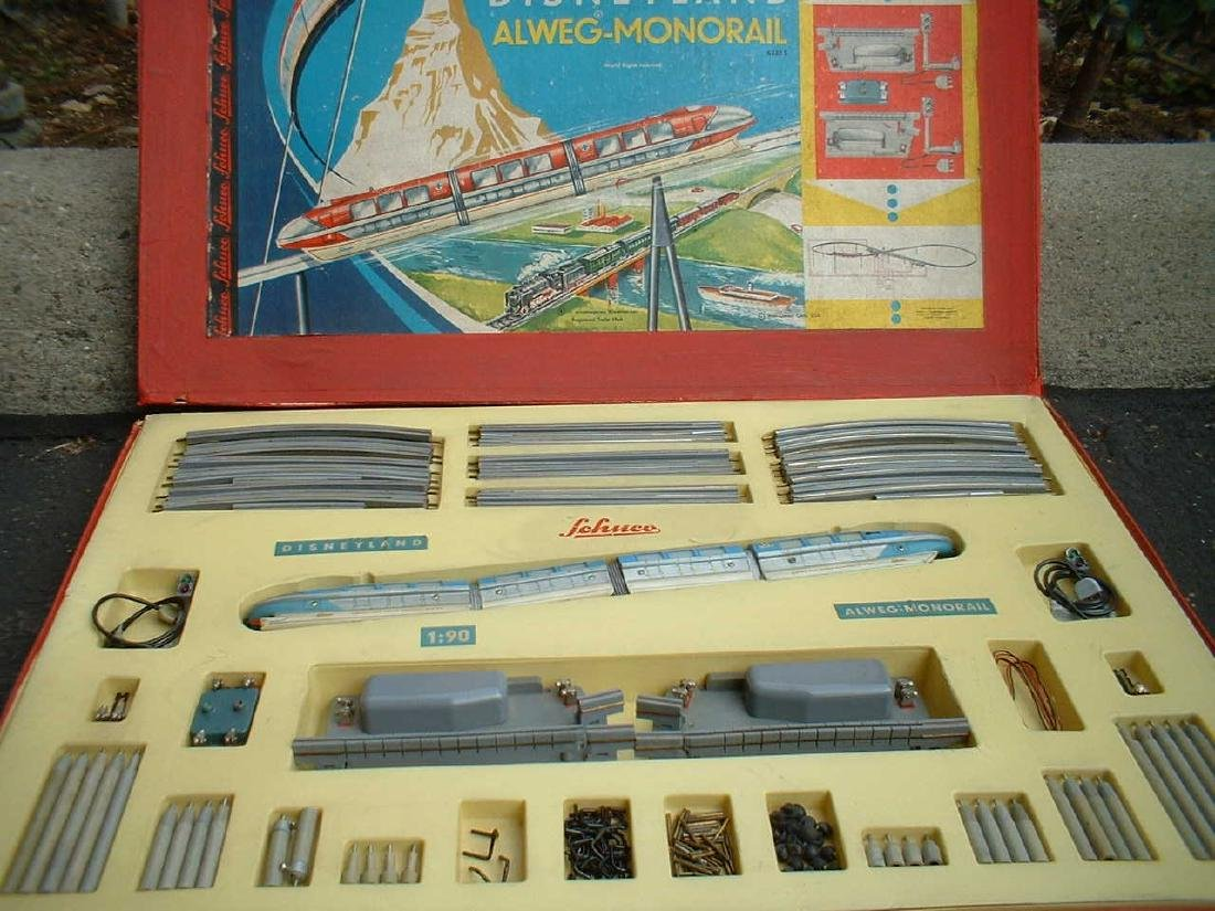 Schuco Monorail / Schuco Disneyland 6333S version