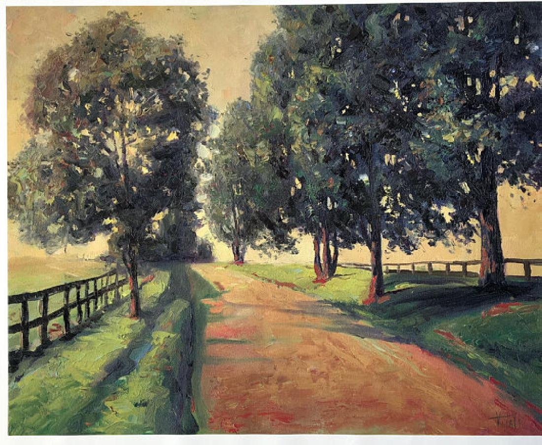 Way to the Farm by Vitaly Mikhailov