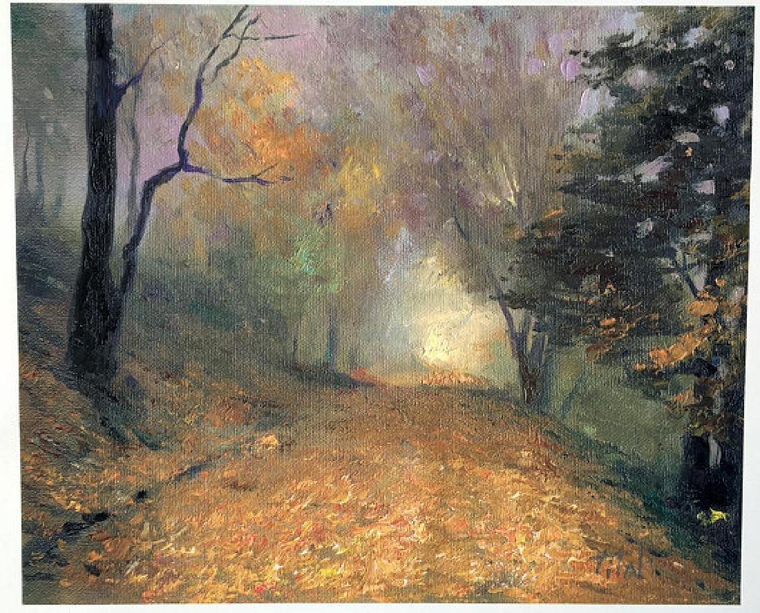Fall Poetry by Vitaly Mikhailov