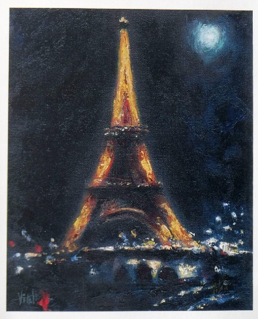 Eiffel Tower by Vitaly Mikhailov