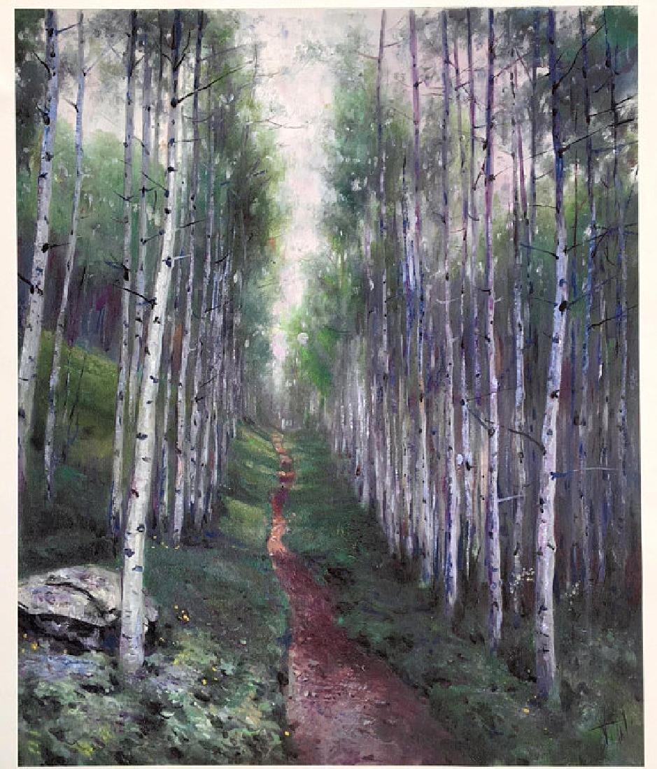 Silver Trees by Vitali Mikhailov