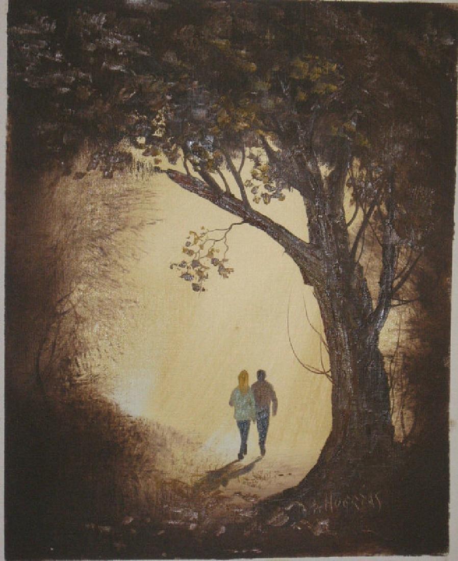 Couple in Park by Segundo Huertas