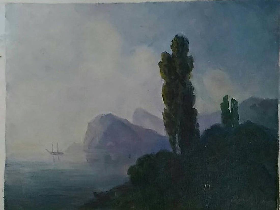 Italian Coast by Igor Ignatiev