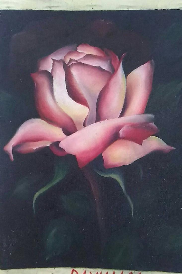 Garden Rose by Yevgenia Vanzha-Boguslavskaya