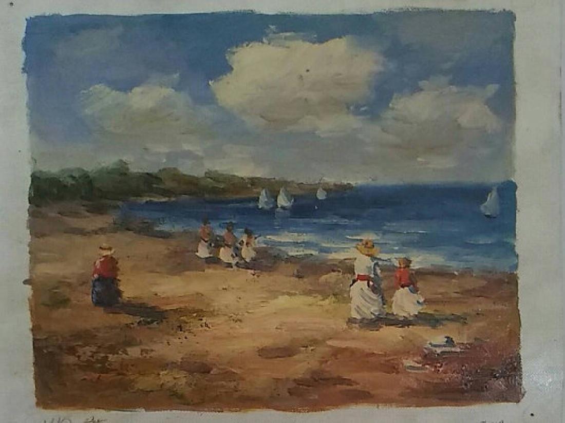 Beach scene by Rony