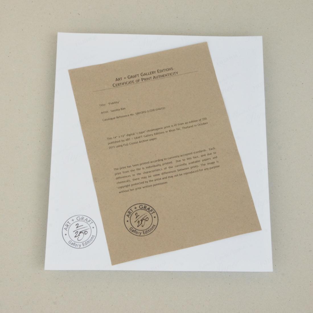 Sarolta Ban - Print - Fidelity - 3