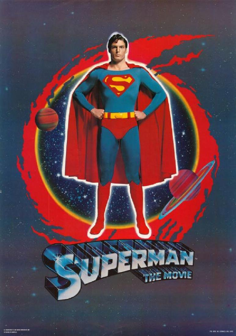 Movie poster - SUPERMAN - Richard DONNER - 1978