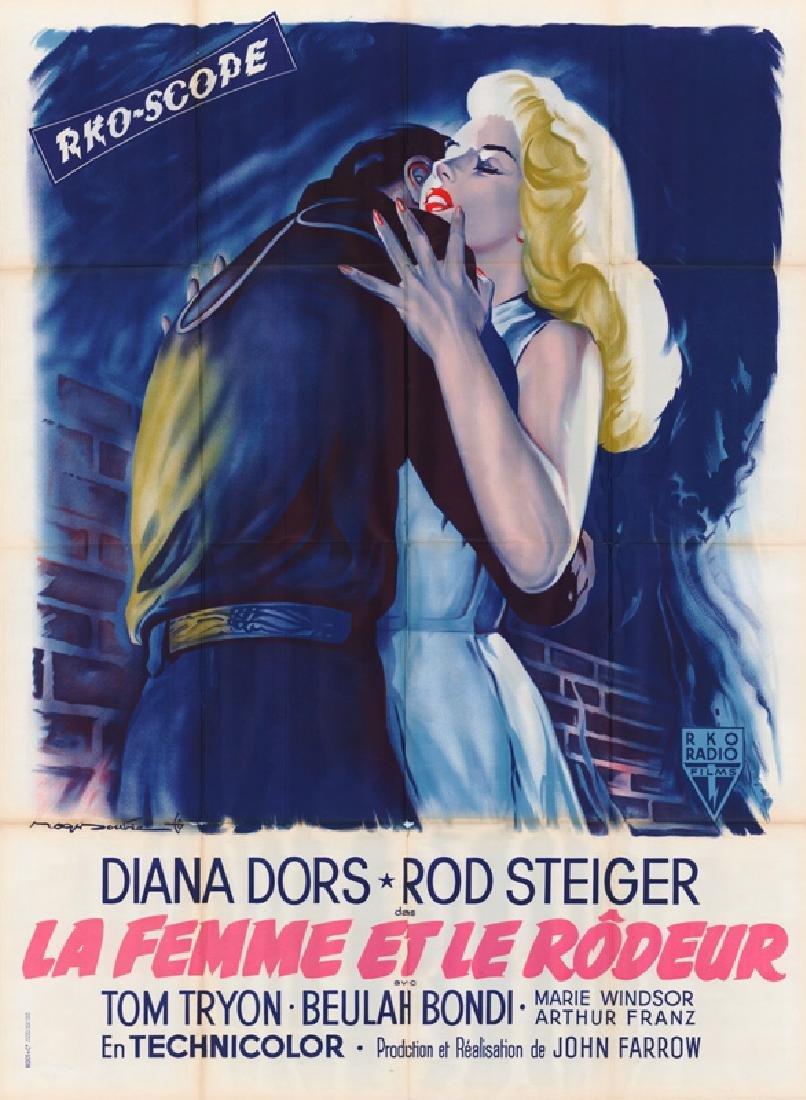 Movie poster - UNHOLY WIFE (the) - John FARROW - 1957