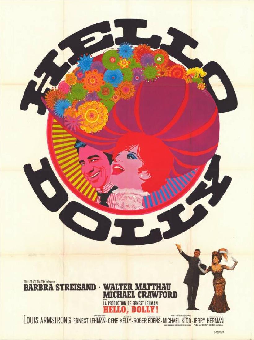 Movie poster - HELLO DOLLY - Gene KELLY - 1969