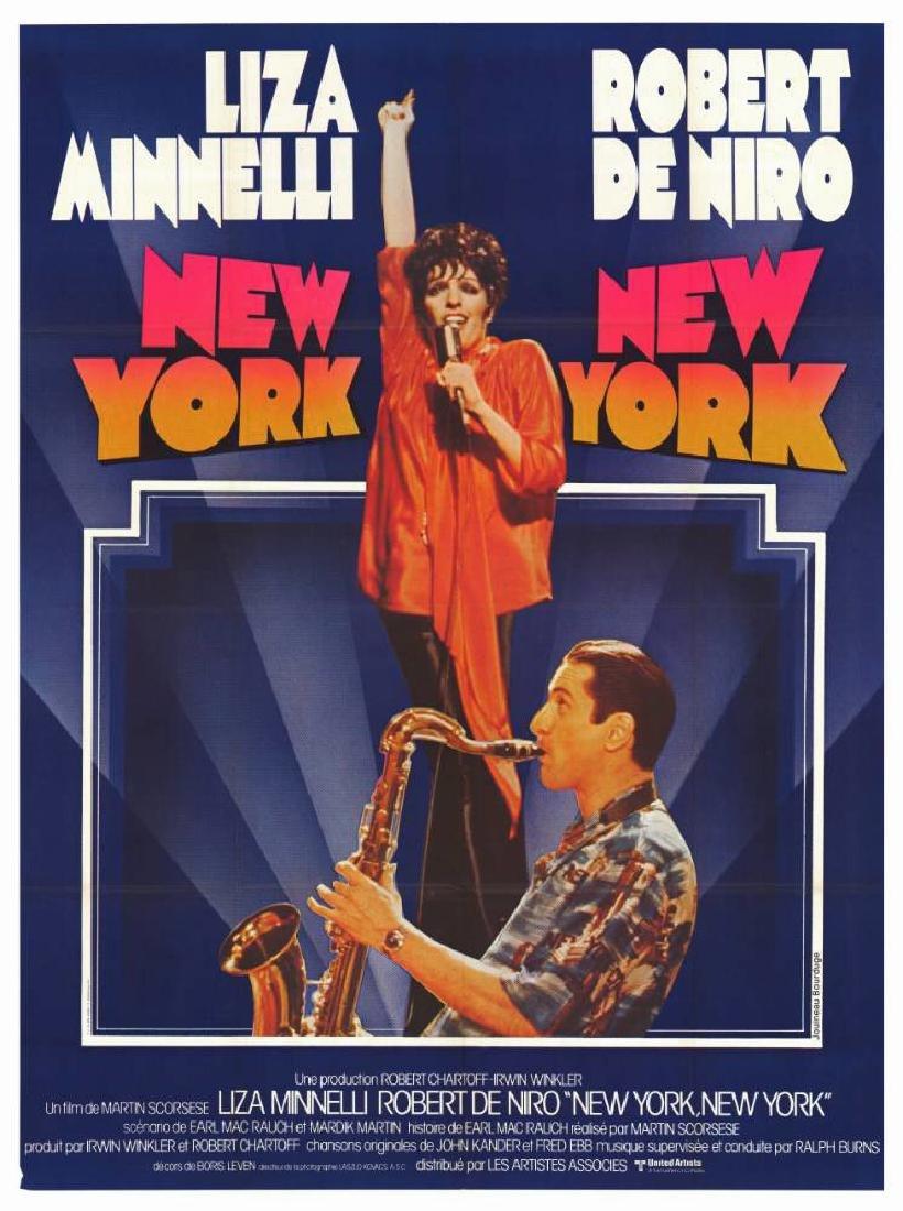 Movie poster - NEW YORK NEW YORK - Martin SCORSESE 1977