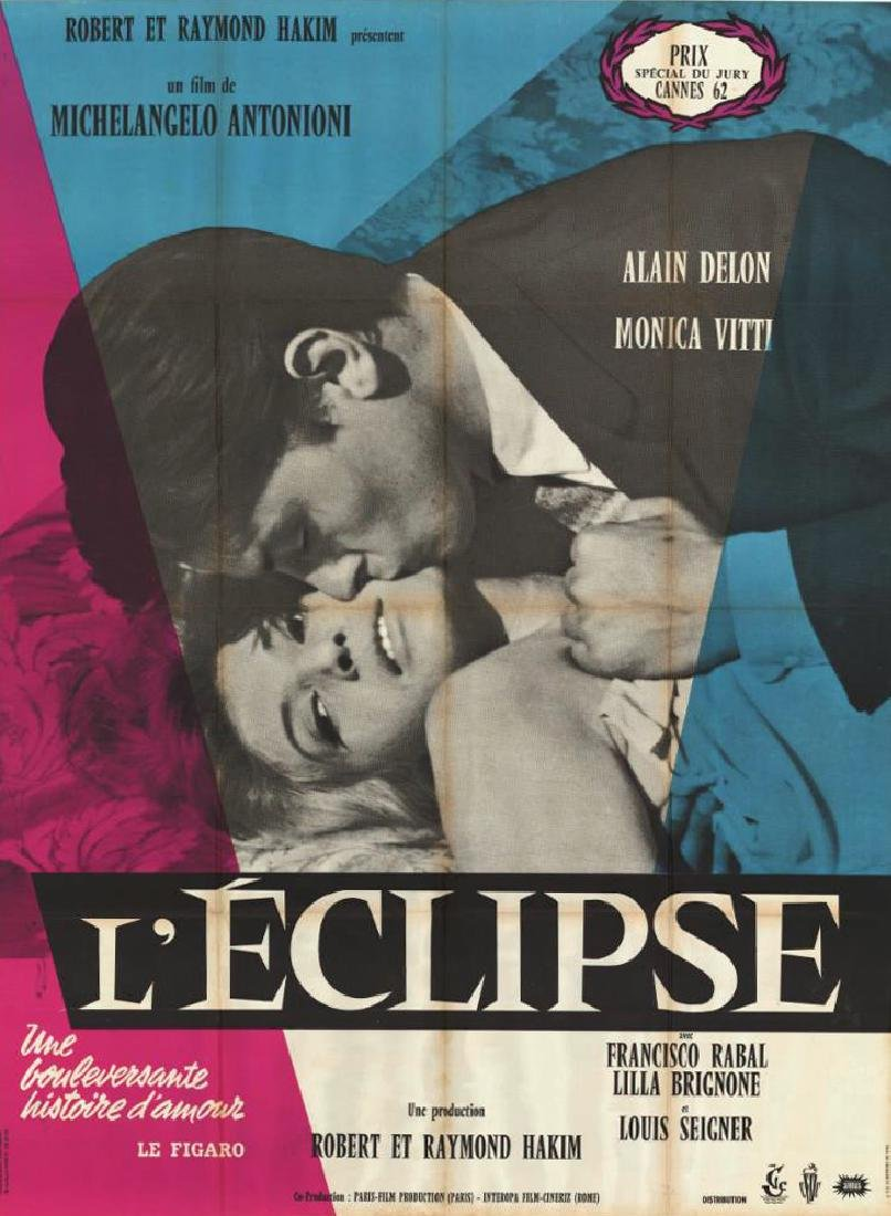 Movie poster - ECLISSE - Michelangelo ANTONIONI - 1962