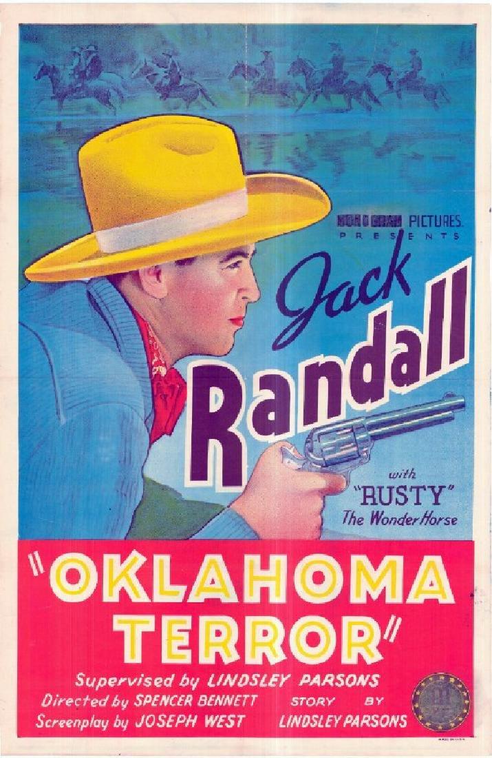 Movie poster - OKLAHOMA TERROR - Spencer Gordon BENNETT
