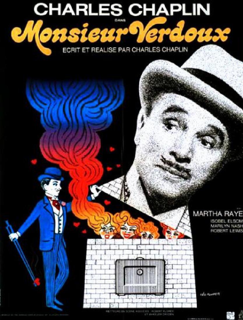 Movie poster - MONSIEUR VERDOUX - Charlie CHAPLIN 1944