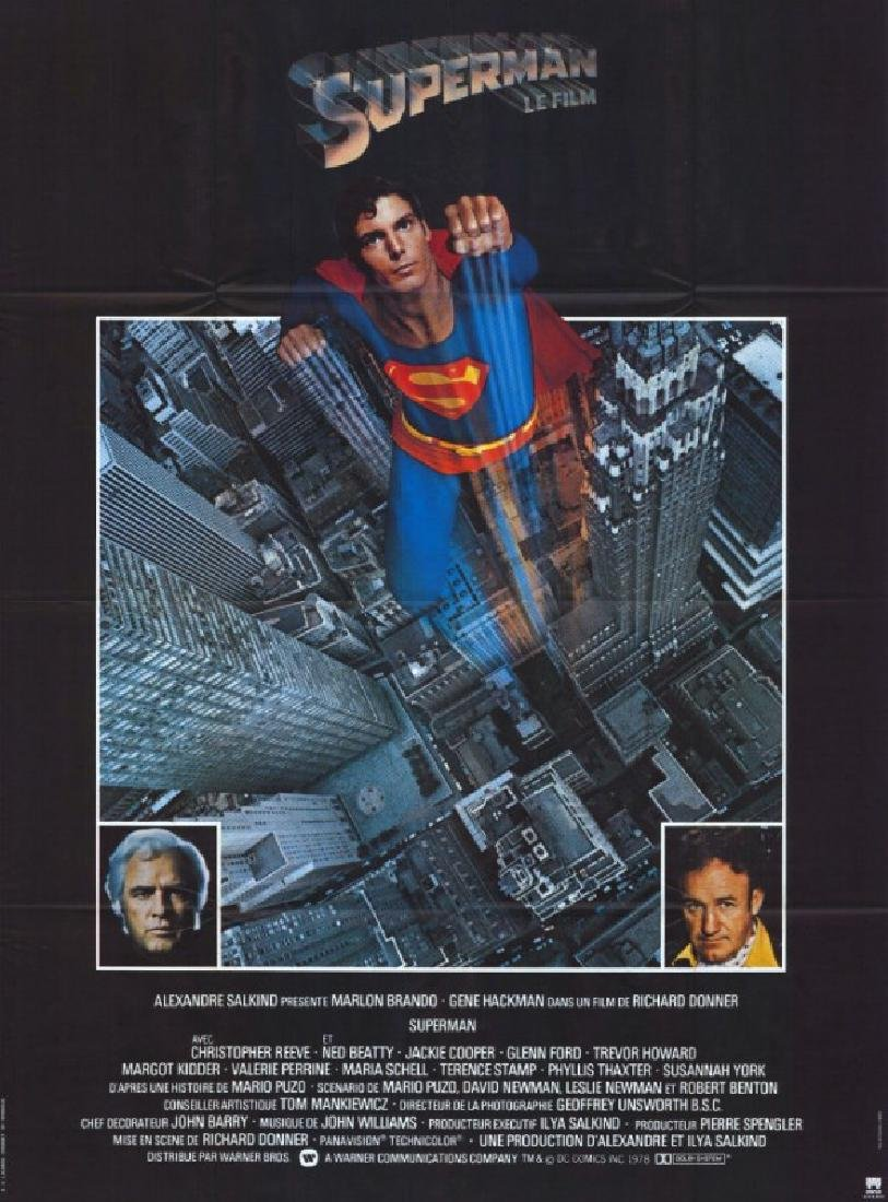 Movie poster - SUPERMAN - Richard DONNER - 1978