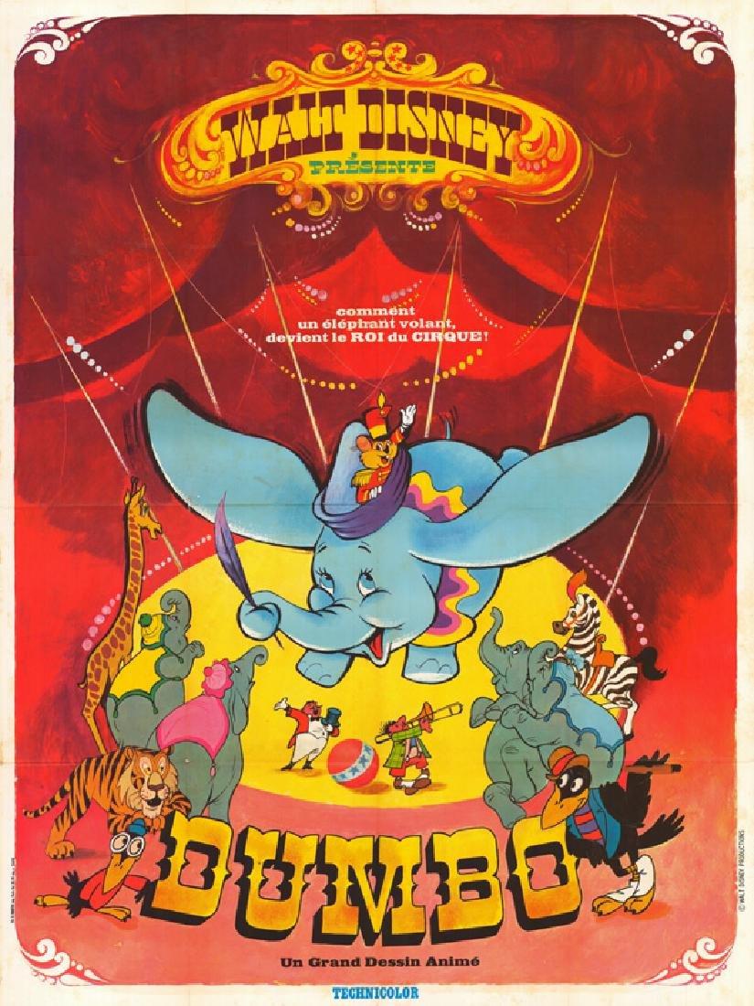 Movie poster - DUMBO - Walt DISNEY - 1941