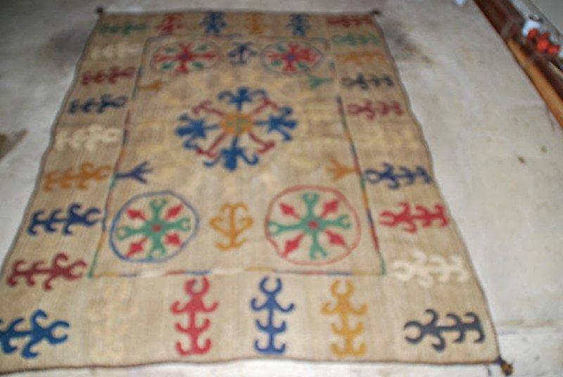 Rare Antique Afghan Nomad Carpet Rug 8x5