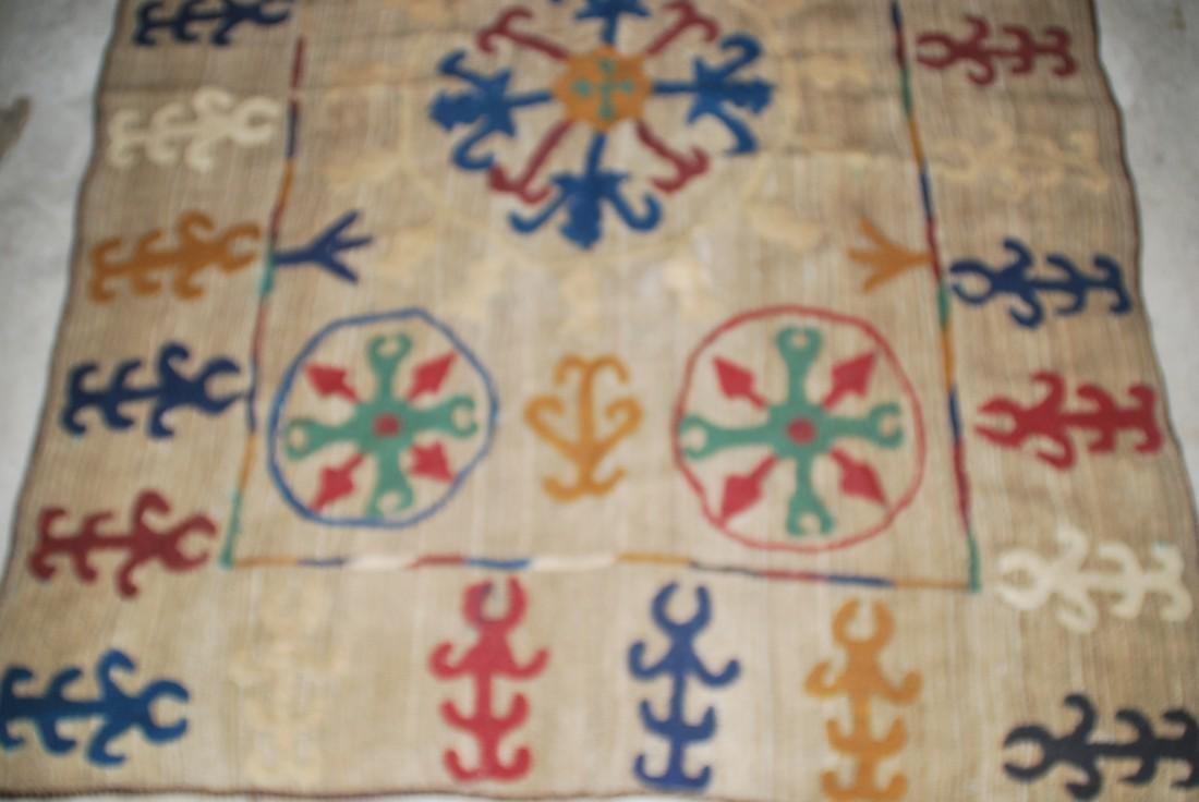 Rare Antique Afghan Nomad Carpet Rug 8x5 - 2