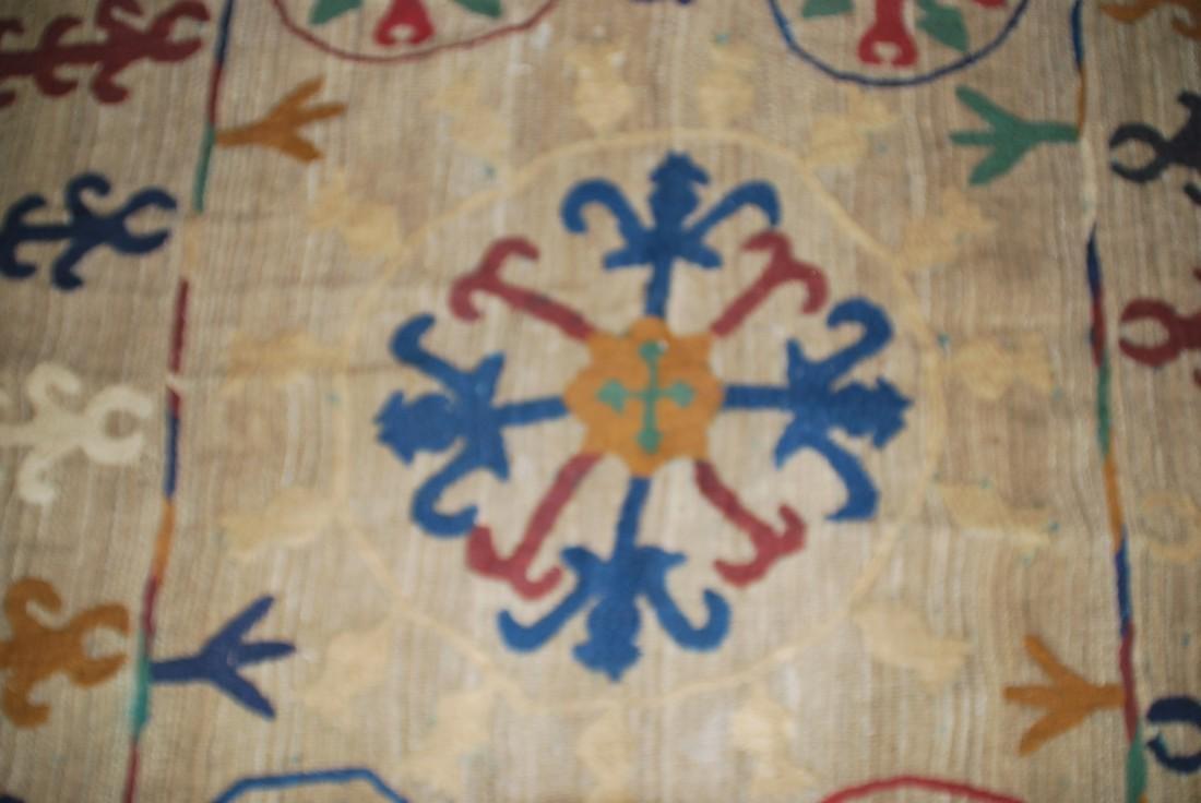 Rare Antique Afghan Nomad Carpet Rug 8x5 - 3