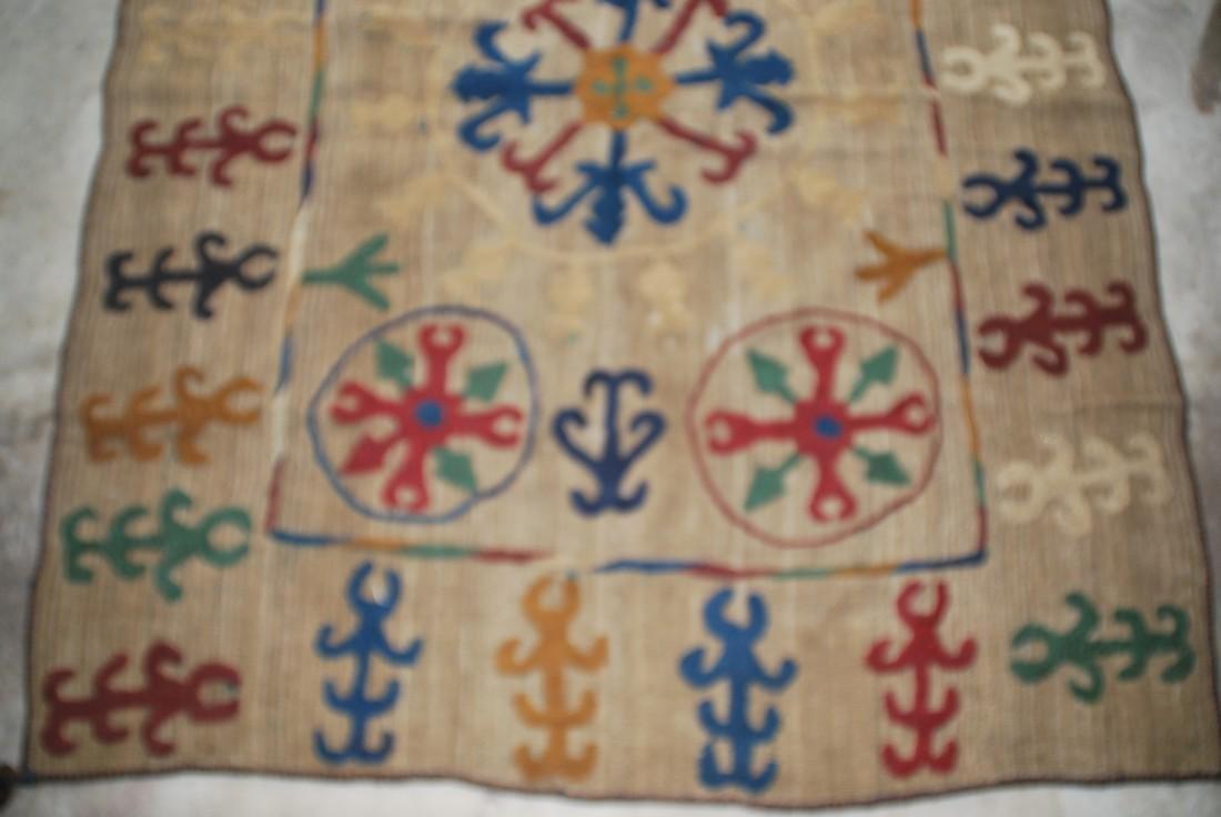 Rare Antique Afghan Nomad Carpet Rug 8x5 - 4