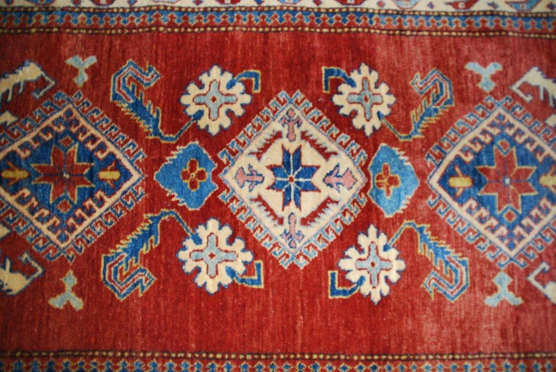 Vintage Kazak Carpet Rug 5.3x3.6 - 2