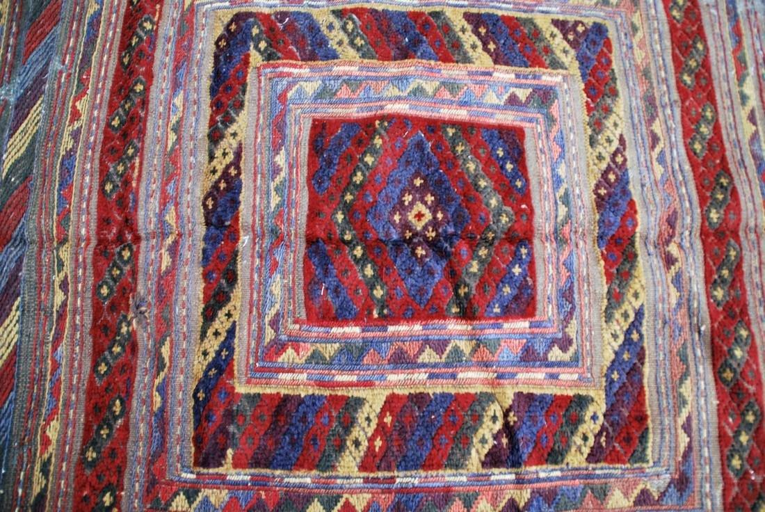 Antique Herati Carpet Rug 3.7x3.7 - 2