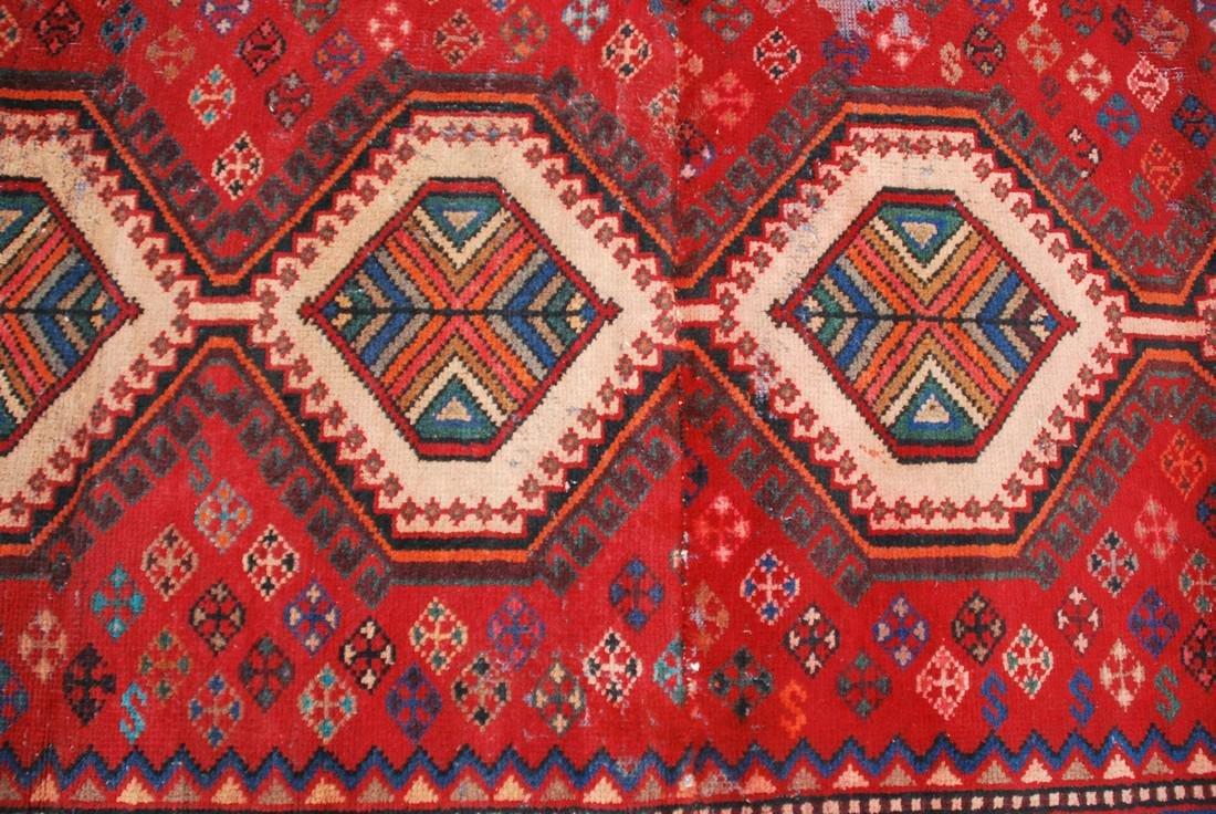 Vintage Persian  Carpet Rug 8x6.5 - 3