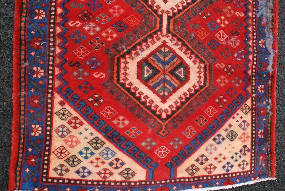 Vintage Persian  Carpet Rug 8x6.5 - 4