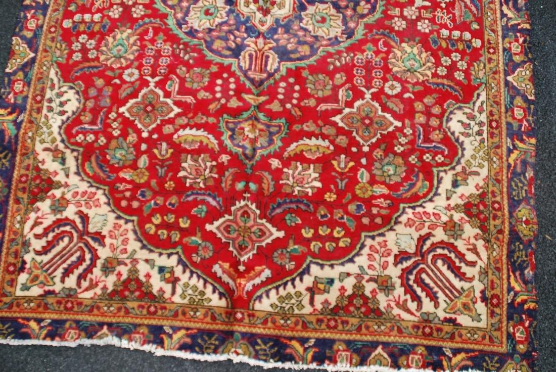 Vintage Persian Carpet Rug 8.6x6 - 2
