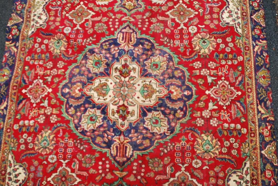 Vintage Persian Carpet Rug 8.6x6 - 3