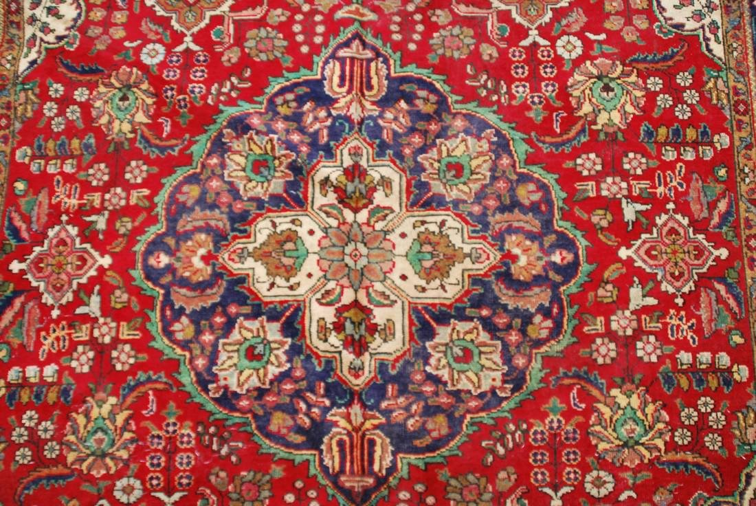 Vintage Persian Carpet Rug 8.6x6 - 4