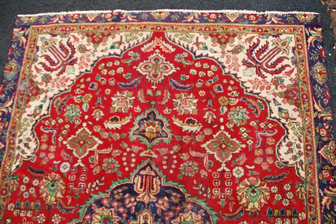 Vintage Persian Carpet Rug 8.6x6 - 5