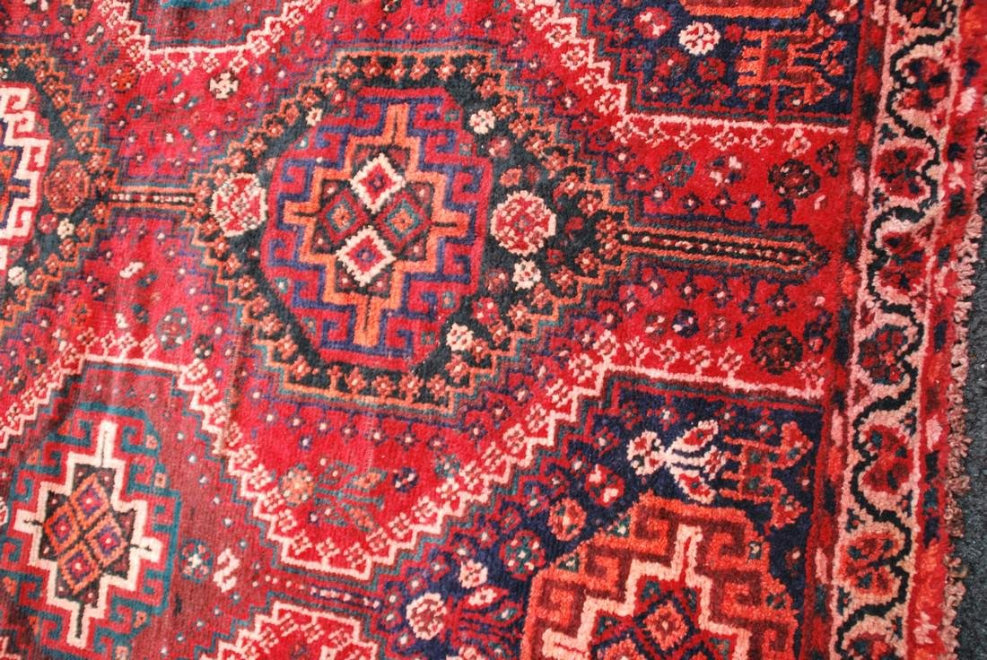 Antique Persian Primitive Carpet Rug 8x5.5 - 2