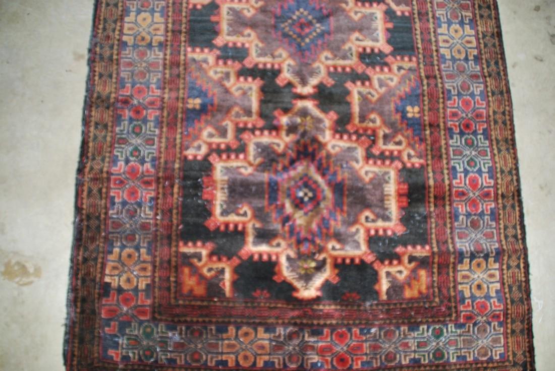 Vintage Persian Carpet Rug 6x3.4 - 2
