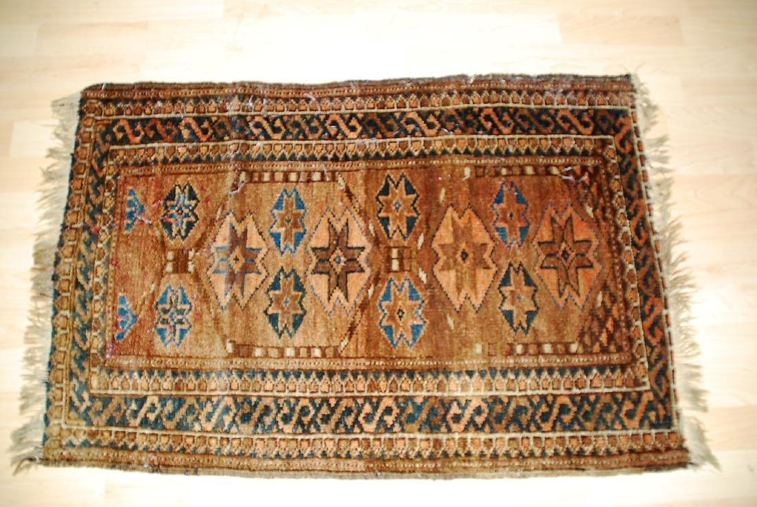 19th Century Perisan Carpet Rug 3.6x2.6