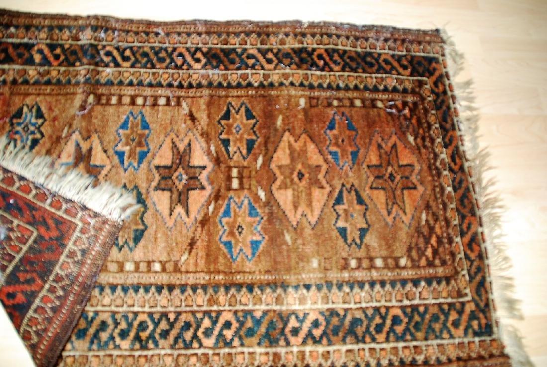 19th Century Perisan Carpet Rug 3.6x2.6 - 2