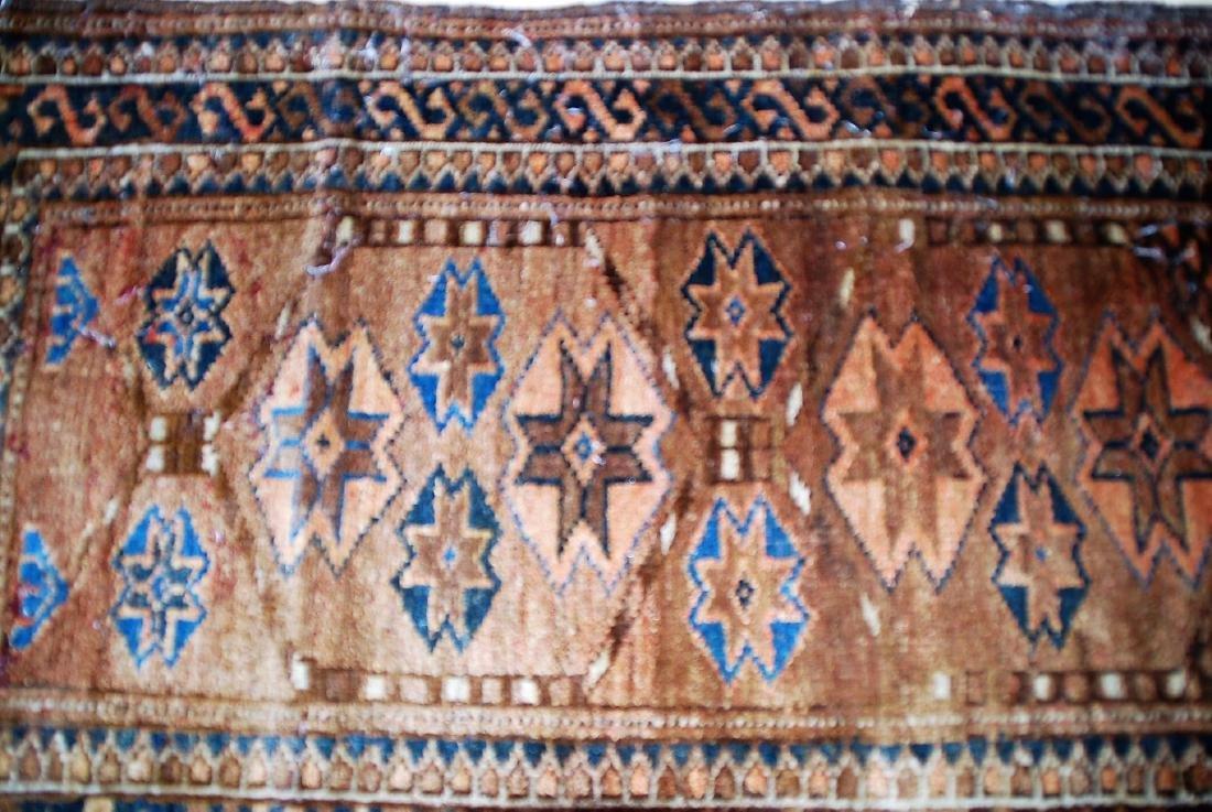 19th Century Perisan Carpet Rug 3.6x2.6 - 3