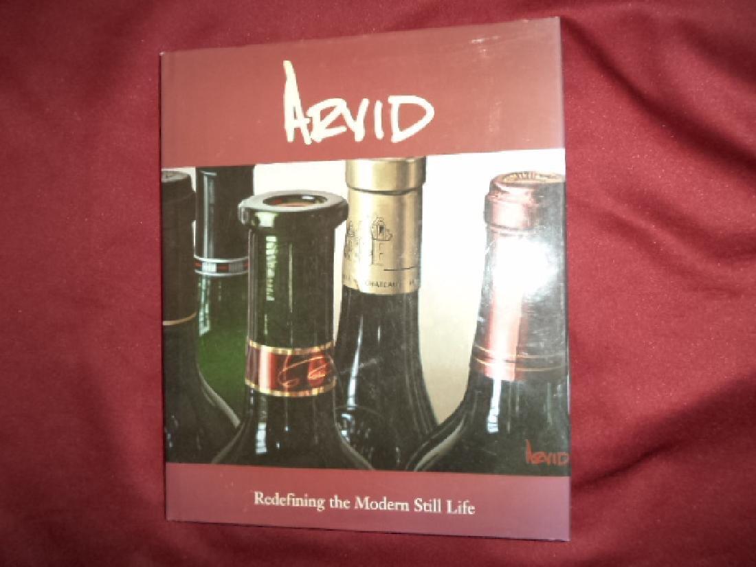 Arvid Inscribed by Author Redefining Modern Still Life