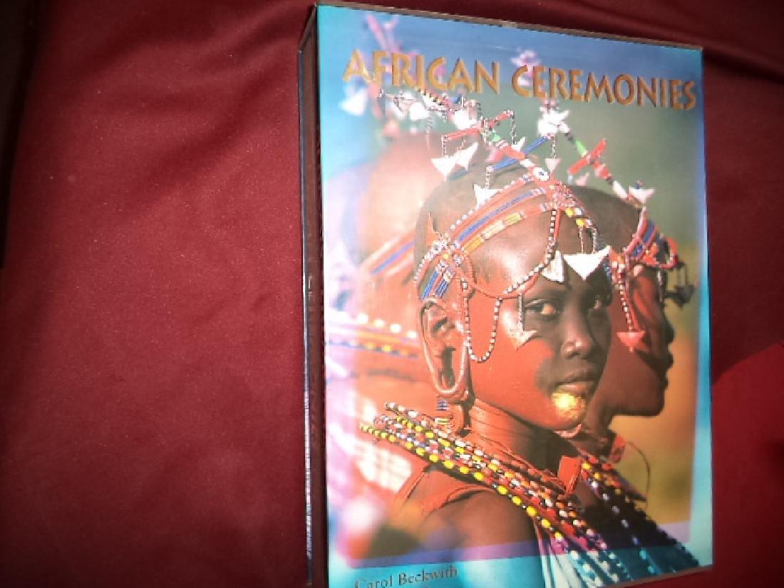 African Ceremonies 2 Volumes in Slip Case Beckwith