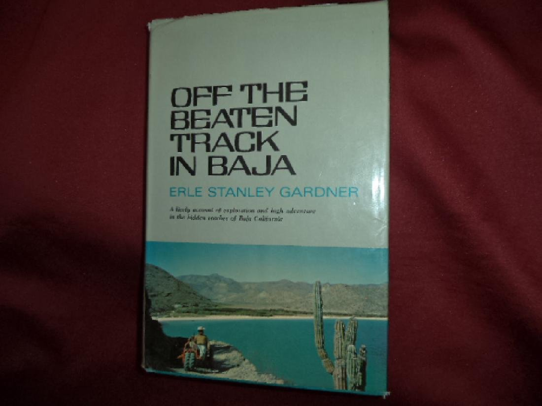 Off Beaten Track in Baja Inscribed by Author Companions