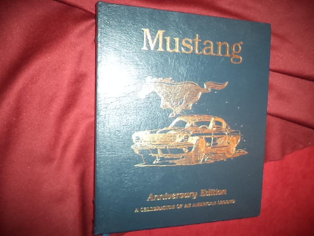 Mustang Signed by Carroll Shelby Anniversary Edition