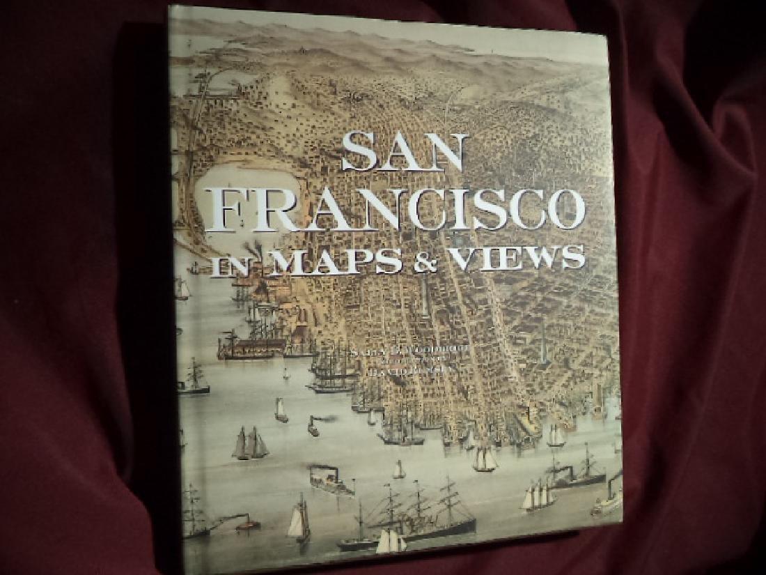 San Francisco in Maps & Views Woodbridge Sally & Rumsey
