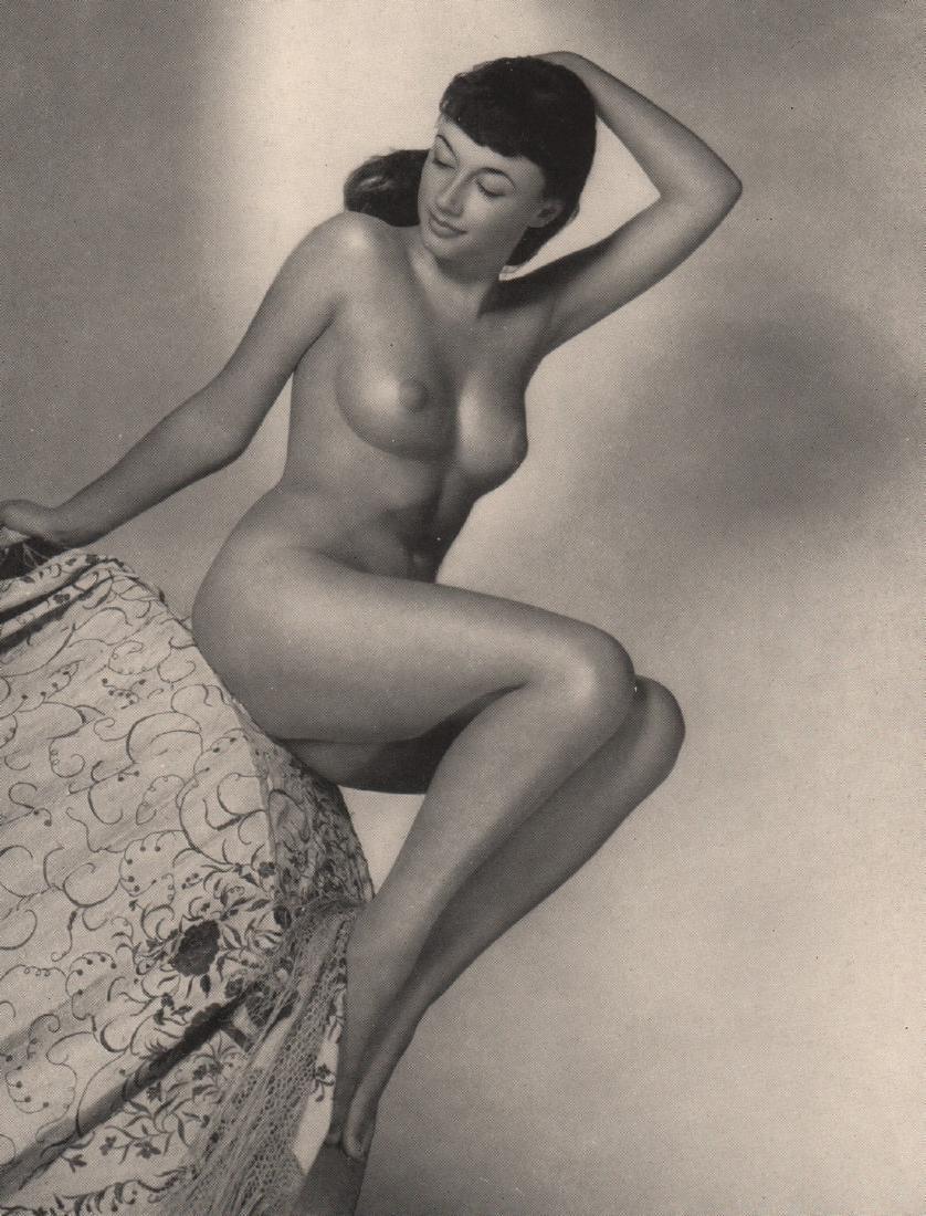 JOAN CRAVEN -  Juno: Pamela Green is the model