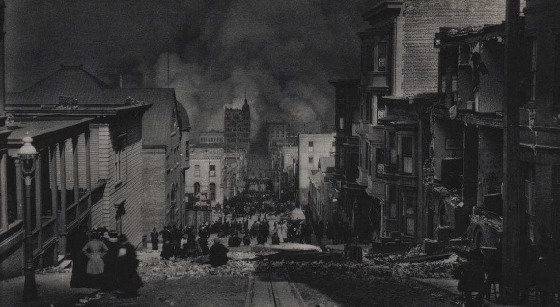 ARNOLD GENTHE - San Francisco 1906