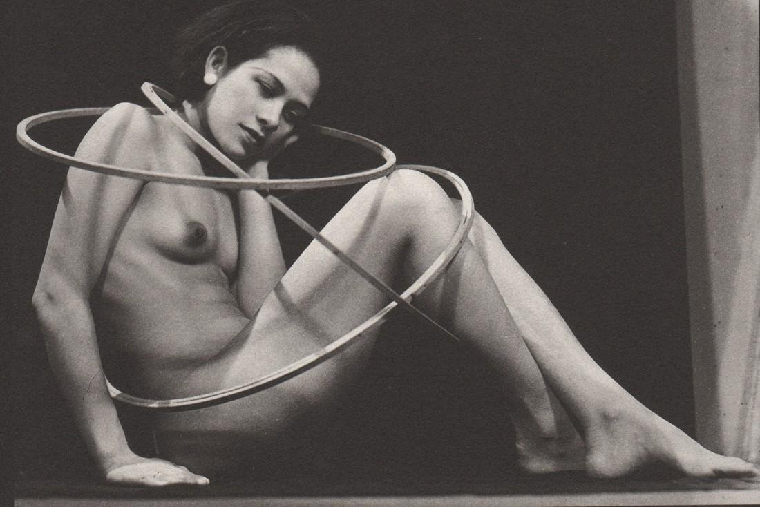 MAN RAY - Ada with Hoops
