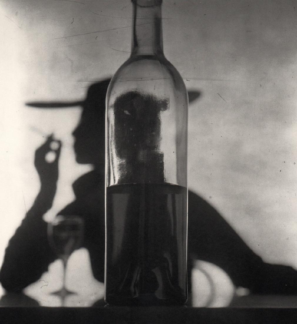 IRVING PENN - Girl behind Bottle, NY, 1949