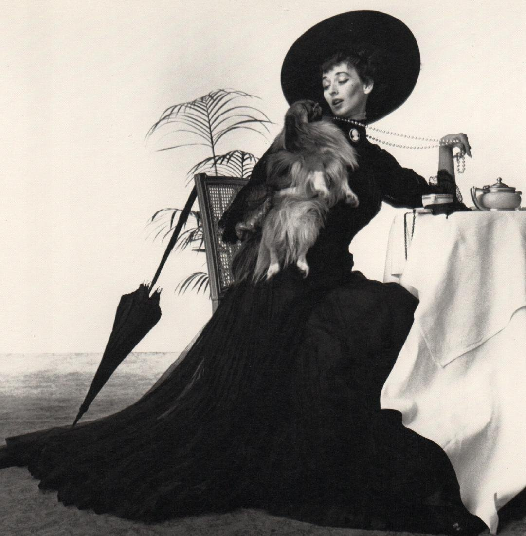 IRVING PENN - 1910 Couture, NY, 1949
