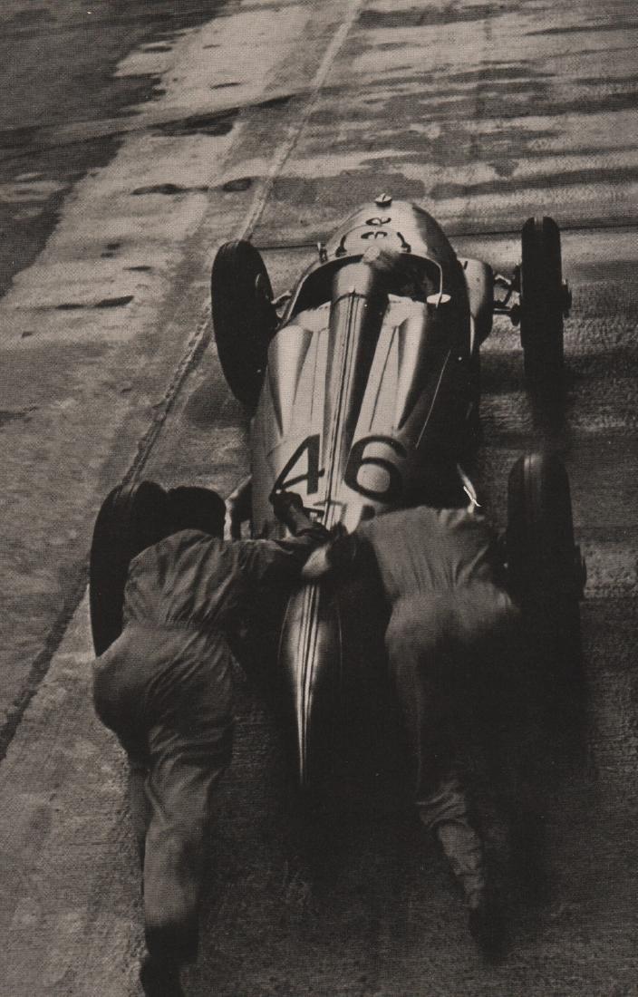 HEINZ V. PERCKHAMMER-  Racing Car Start