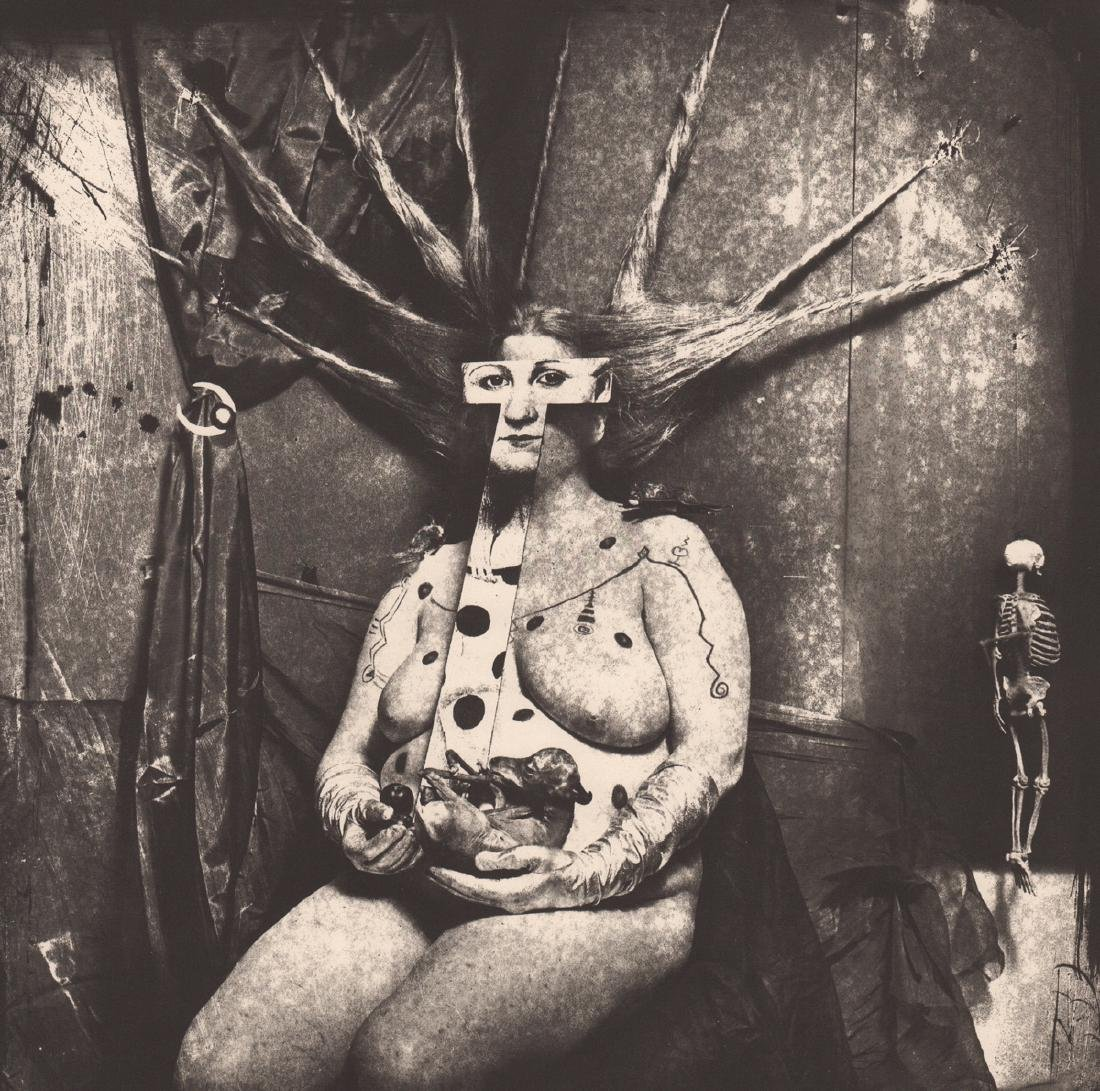 JOEL-PETER WITKIN  - Portrait of Nan, 1984